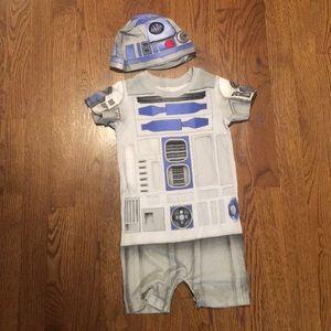 Star Wars R2D2 Onsie Jumper Disney